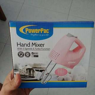 PowerPac Hand Mixer