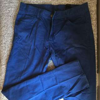 H&M Limited Edition Blue Washed Jeans