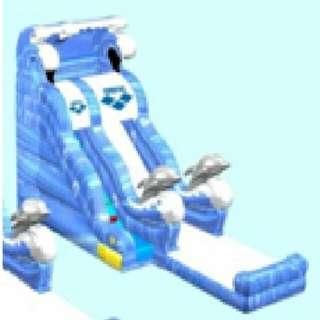大型吹氣滑梯