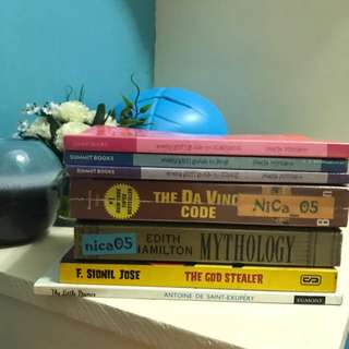 Books For 30php Each