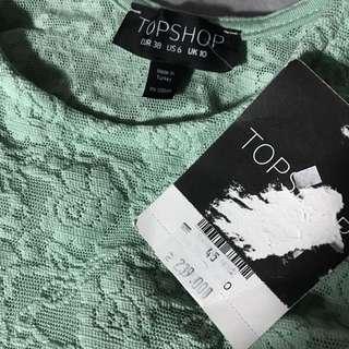 (NEW) Topshop Super Lace Top