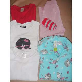 Target, Dymples, Sista, Bonds Girls Mixed Clothing Lot Size 2