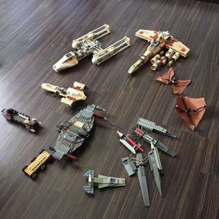 Random Star Wars Sets And Pieces
