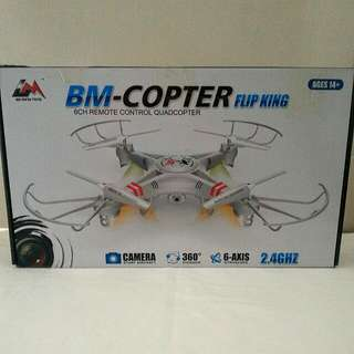 Drone Quadcopter BM-COPTER Flip King