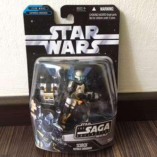 Star Wars Saga Collection Clone Commando Scorch