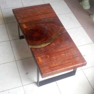 Merbau Wood Kayu River Coffee Table