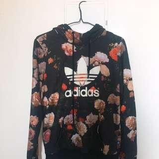 Adidas Roses Hoodie 🌹