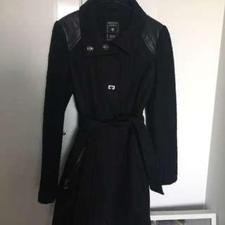 Guess Long Wool Coat