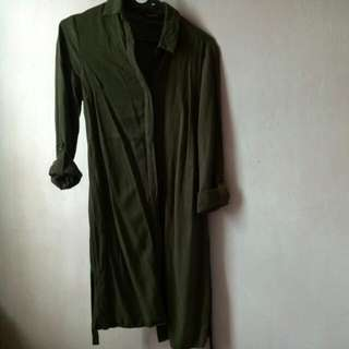 New Look Olive Dress