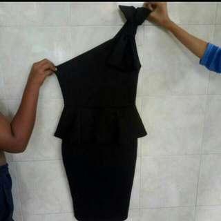 TURUN HARGA!! DRESS BANGKOK ONE SHOULDER (NEW)