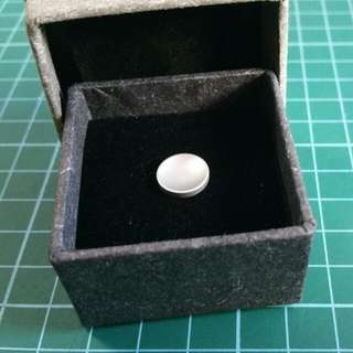 BN Shutter Button Grey Concave 11mm