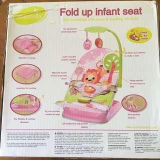 Mastela Infant Seat Pink (girl) Edition