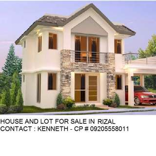 Titled House and Lot For Sale in Rizal