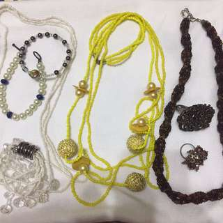 Fashioned Necklace Bracelet Ring TAKE ALL