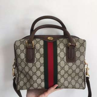 (Vintage)Gucci boston bag