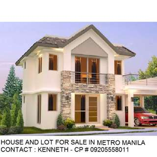 Titled House and Lot For Sale in Metro Manila New 2018 Ready To Used
