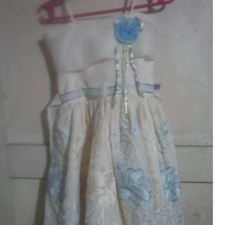 white dress fits for aged 2-3 yrs.old