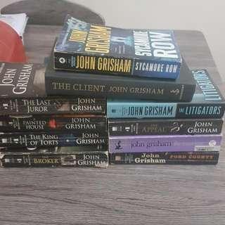 SALE! John Grisham Books