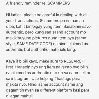 TIPS TO AVOID SCAMMERS ❤️