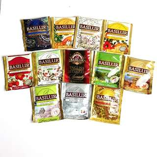 Basilur Tea Assorted 20 Tea Bags