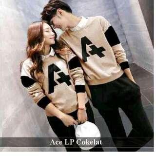 toko online baju couple tebal termurah-grosir eceran terlengkap-Baju Couple Ace LP