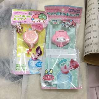 Little Twin Stars My Melody Bottle Cap With Straw