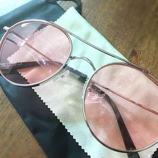 Korea Pink Vintage Sunglasses / Shades