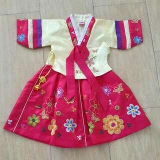 Girl Korean Dress