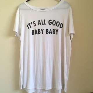 Its All Good Baby Baby Tshirt Biggie Smalls