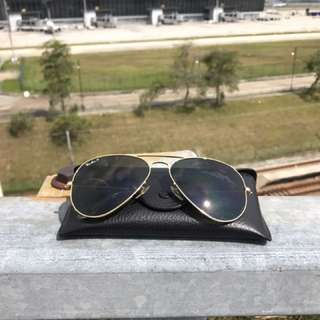 (Reduced-Must Sell) Rayban Aviator Polarized RB3025