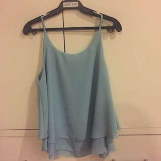Powder Blue Sleeveless