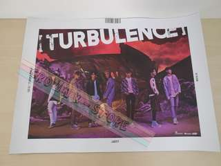 [READY STOCK]GOT7 KOREA FLIGHT LOG :TERBULENCE OFFICIAL POSTER 1PC SHIP USING TUBE (PRICE NOT INCLUDE POSTAGE)(PLEASE READ DETAILS FOR MORE INFO)