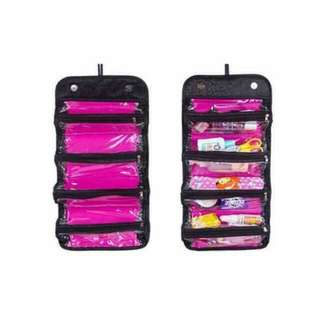 Roll And Go Makeup Organizer