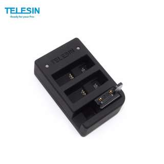 Telesin 2 in 1 Charger Only for Batteries and WiFi Remote For Gopro Hero 4 and 5