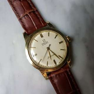 Antique 50's Omega Seamaster Bumper Cal.351 Auto Men Watch.