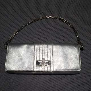Basque Silver Clutch