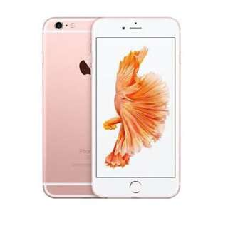 LOOKING FOR SWAP! wanting to swap an iphone 6s (64gb) rose gold for a iphone 6s plus (64gb or more)