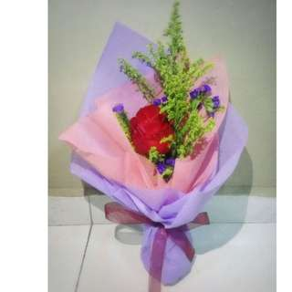 Fresh Red Roses Bouquet Flower for Gifts Valentines Day Mother's Day Gifts