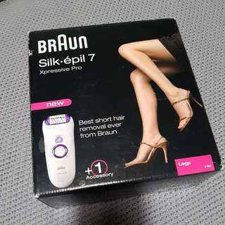 Lady's Braun Silk Epil 7 Hair Remover