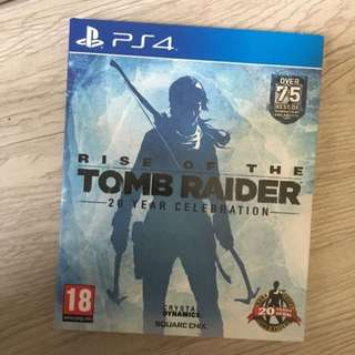PS4 - Rise of the Tomb Raider (Almost Brand New)