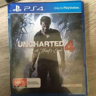PS4 - Uncharted 4 (A Thief's End) (Almost Brand New)