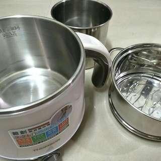 【暫售】THOMSON雙層防燙不鏽鋼多功能美食鍋