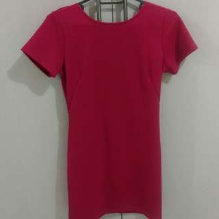 Repriced: Bayo Fuschia Dress