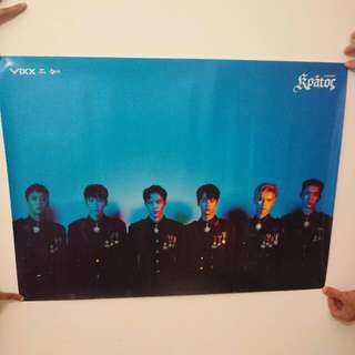 VIXX Kratos Official Poster