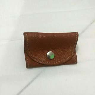 Genuine Leather Simple Coin Wallet