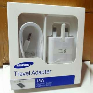 🏆 CLEARANCE!! Retail Package: Samsung Fast Charger + 1.5m Cable