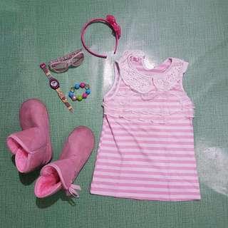 Nanno Kids Pink Blouse