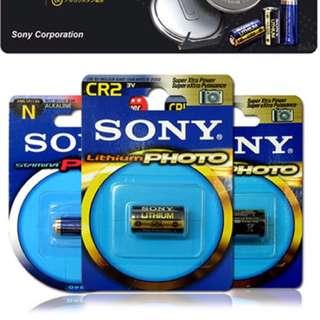 SONY CR2 CR2A 一次性鋰電池 3V 拍立得 Mini 25 50適用