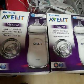 Avent Natural 11oz Twin Pack