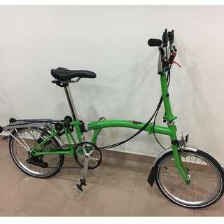 Pre-loved Brompton Bike